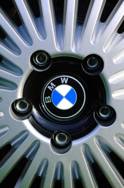 1973 Bwm 3.0 Csl Wheel Emblem Poster