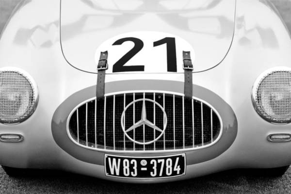 1952 Mercedes-benz W194 Coupe Poster