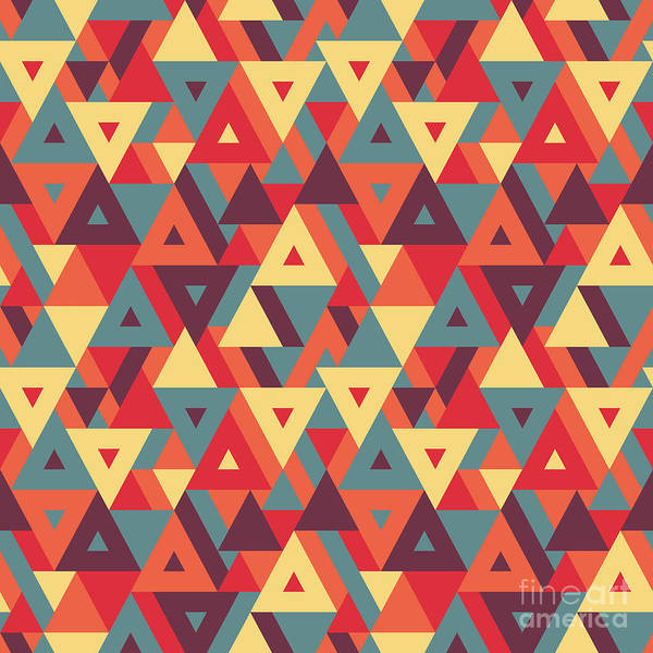 Abstract Geometric Background - Poster