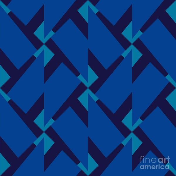 Abstract Retro Pattern. Vector Poster