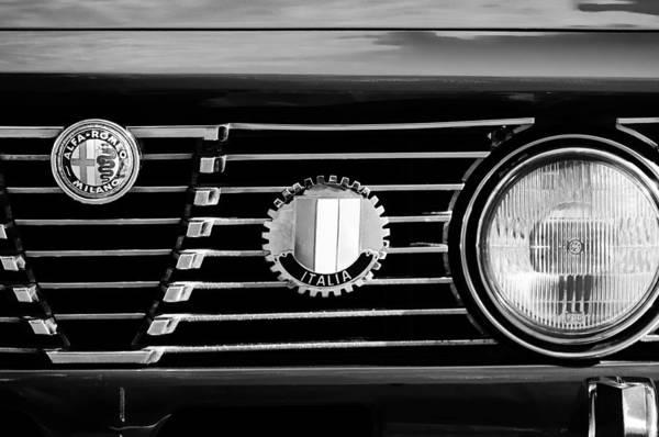 Alfa-romeo Grille Emblem Poster