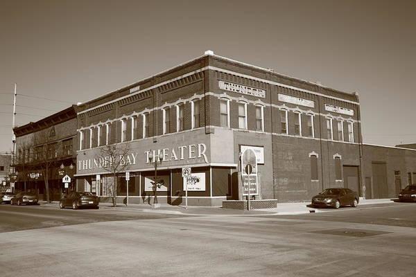 Alpena Michigan - Thunder Bay Theatre Poster