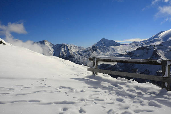 Austrian Mountains Poster