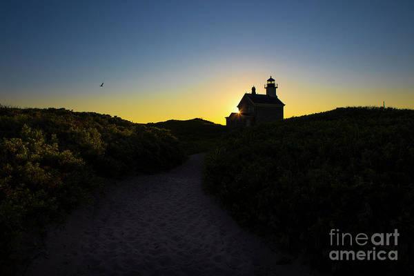 North Lighthouse On Block Island, Rhode Island Poster