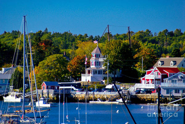 Boothbay Harbor Maine. Poster