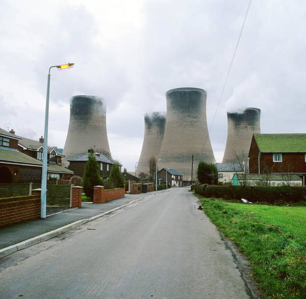 Coal-fired Power Station Poster
