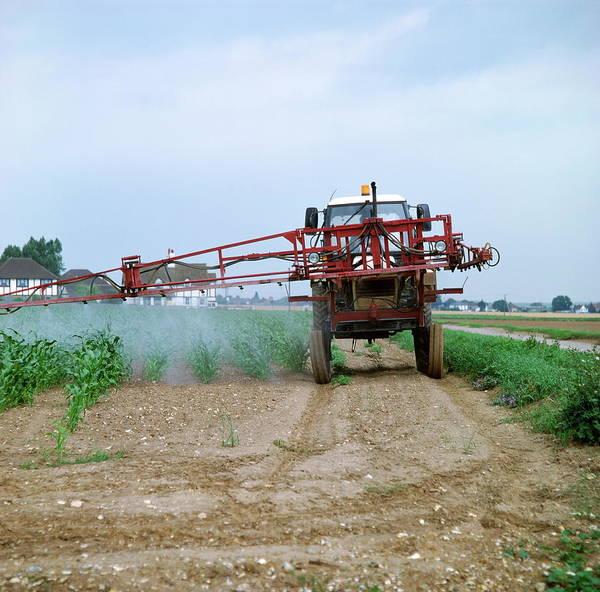Crop Spraying Poster