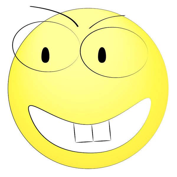 Happy Yellow Smiley Poster