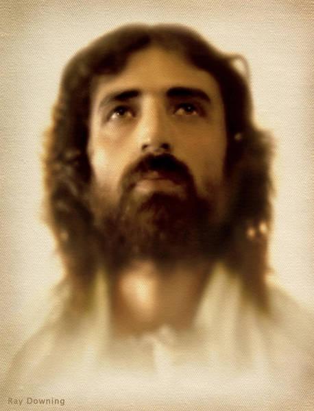 Jesus In Glory Poster
