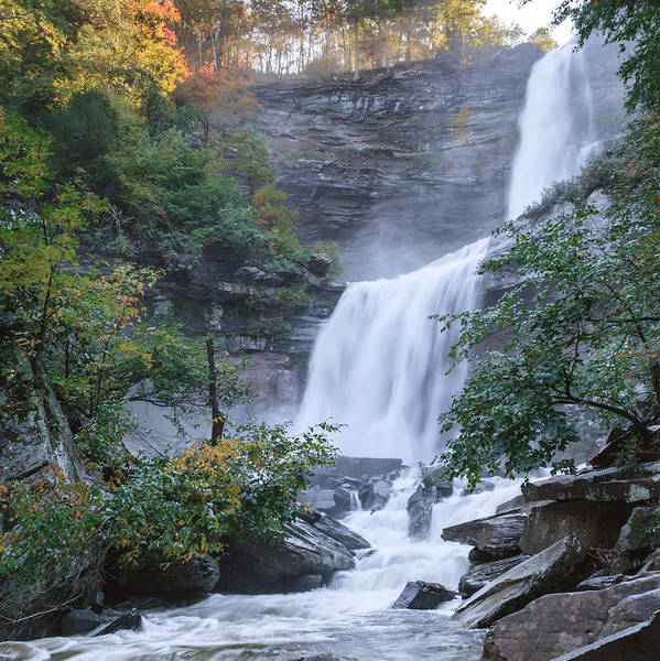 Kaaterskill Falls Square Poster