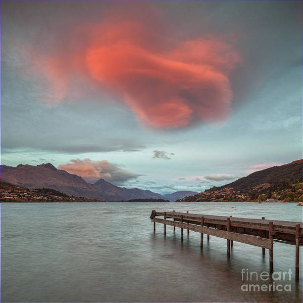 Lake Wakatipu Queenstown New Zealand Poster