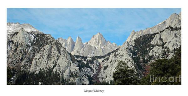 Mount Whitney Poster