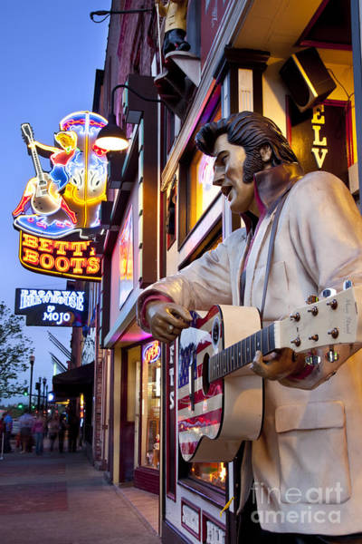 Poster featuring the photograph Music City Usa by Brian Jannsen