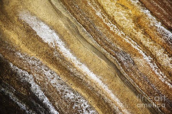 Ocean Cliff Textures 3 Poster