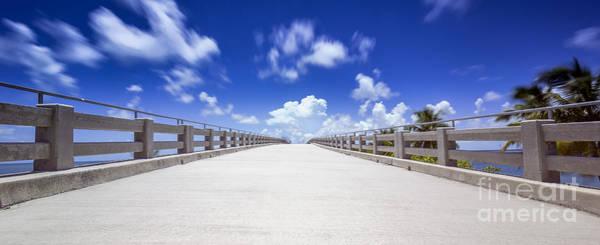 Old Bahia Honda Bridge Florida Keys Poster