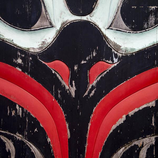 Raven Totem Figure Poster