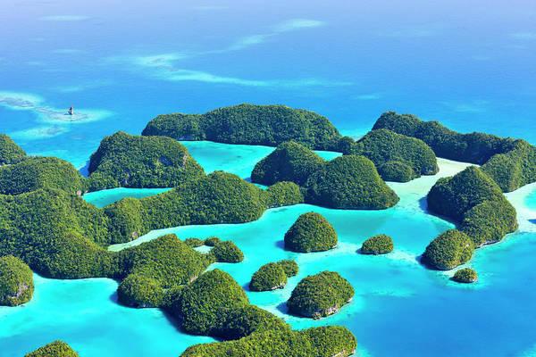 Rock Islands, Palau Poster