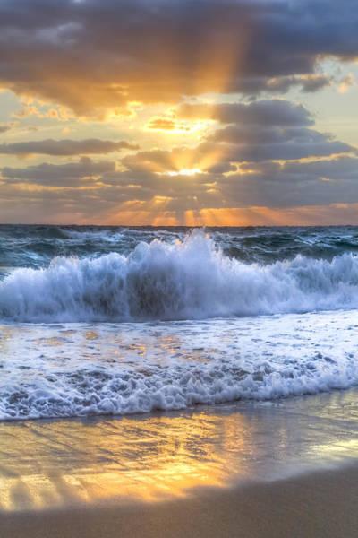Splash Sunrise Poster