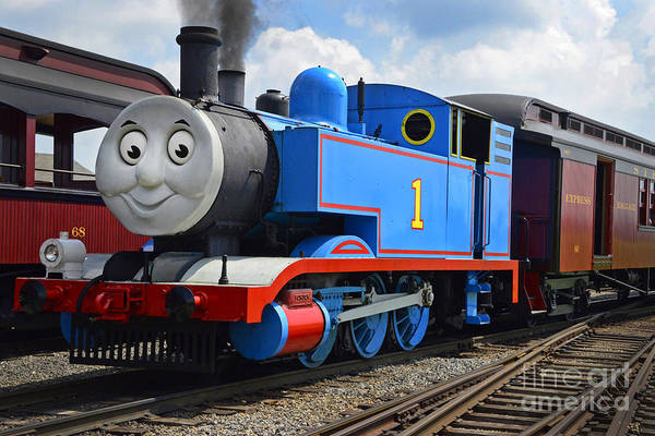 Thomas The Engine Poster