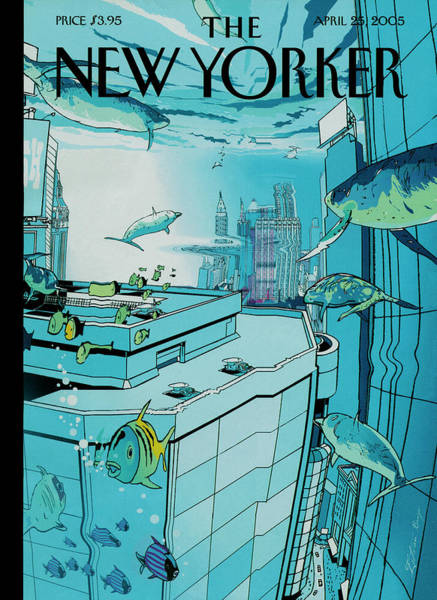 New Yorker April 25th, 2005 Poster