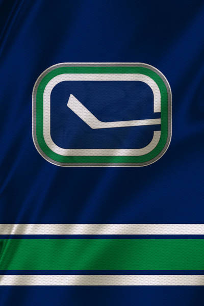 Vancouver Canucks Uniform Poster