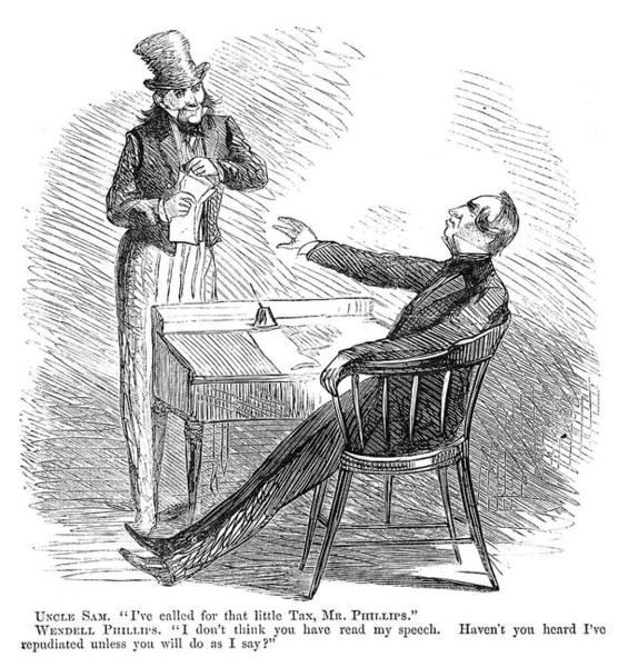 Wendell Phillips (1811-1884) Poster