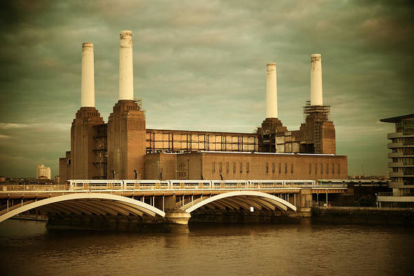 Battersea Power Station London Poster