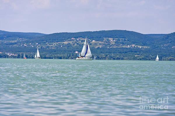 Beautiful Lake Balaton  Poster