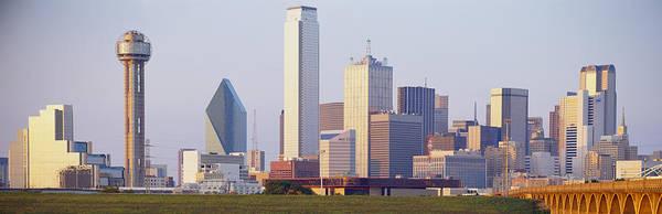 Buildings In A City, Dallas, Texas, Usa Poster