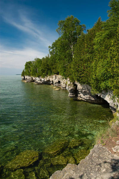 Cave Point County Park Poster