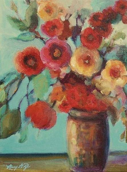 Floral Painting Poster