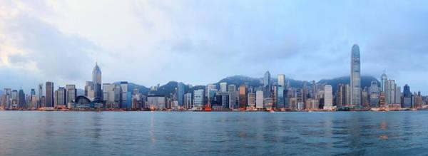 Hong Kong Morning Poster