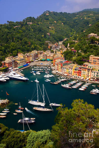 Poster featuring the photograph Portofino by Brian Jannsen