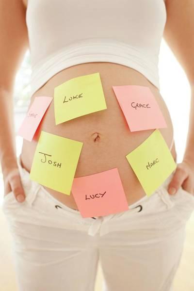 Choosing Baby Names Poster