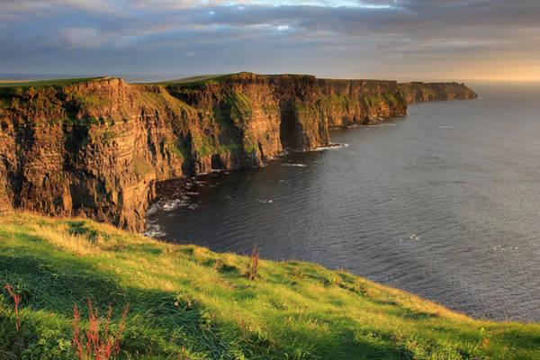 Cliffs Of Moher Sunset Ireland Poster