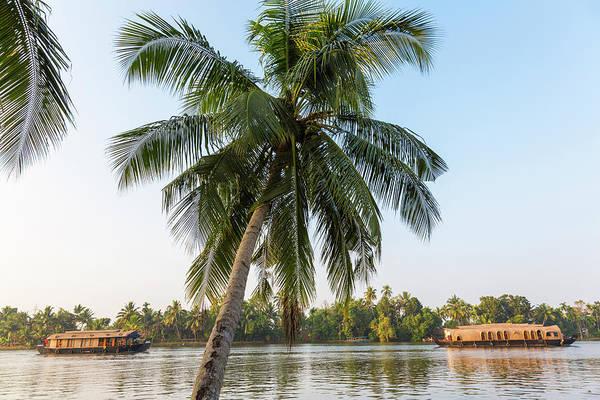 Traditional Houseboat, Kerala Poster