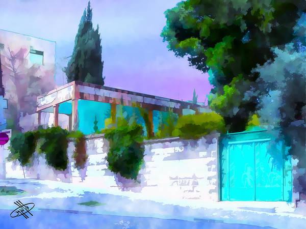 Jordan/amman/old House Poster