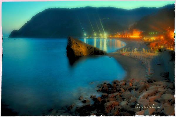 5 Terre Monterosso Beach In Passeggiate A Levante Poster
