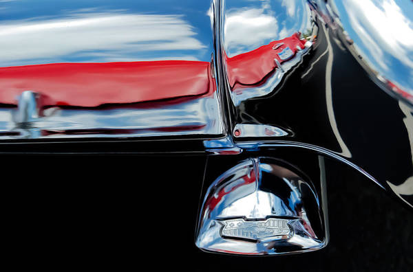 55 Chevy Tail Pipe Poster