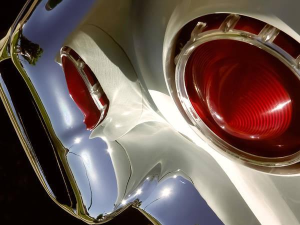 57 Thunderbird Tail Pipe Poster