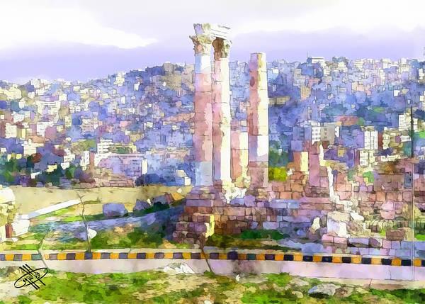 Jordan/amman/citadel Poster
