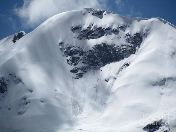 Peru Mountain Snow Poster