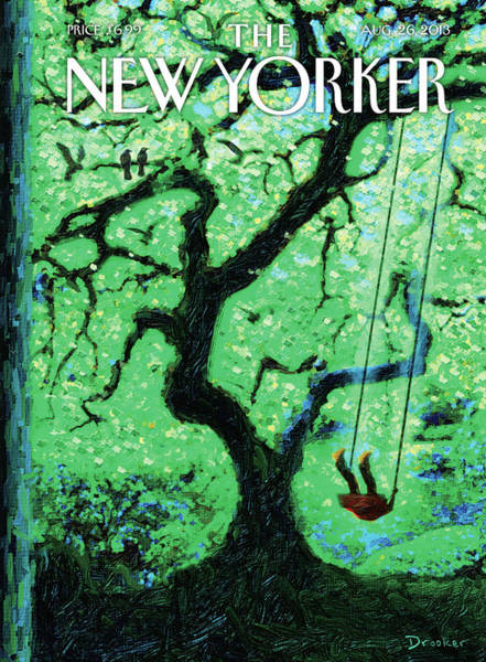 New Yorker August 26th, 2013 Poster