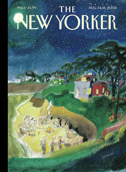 New Yorker August 11th, 2008 Poster