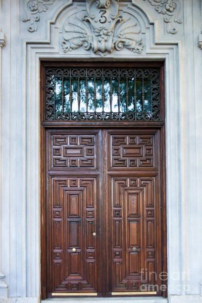 Distinctive Doors In Madrid Spain Poster