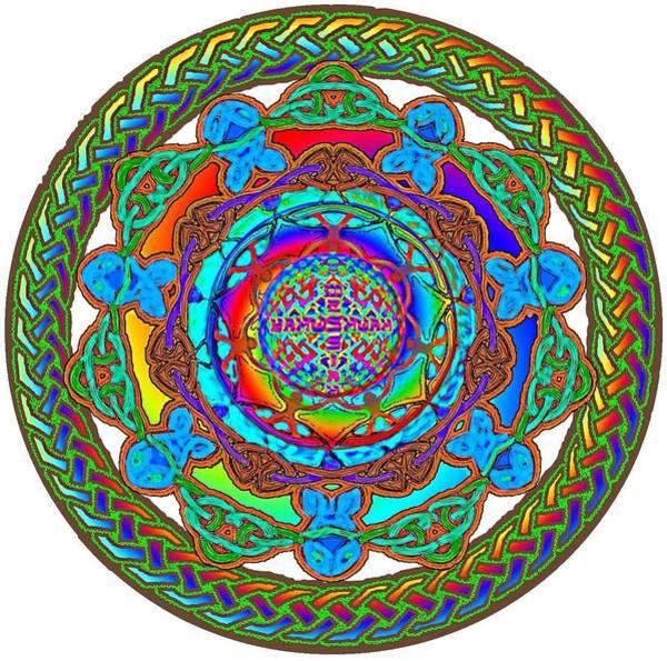 7 Fish Rainbow Yahushuah Messiah Poster