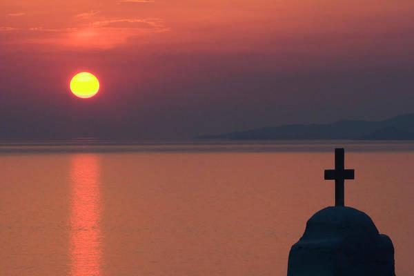 Greece, Mykonos, Hora Poster
