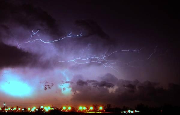 Our 1st Severe Thunderstorms In South Central Nebraska Poster