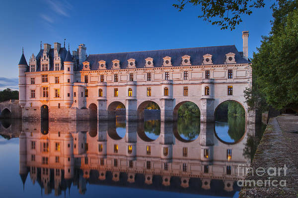 Poster featuring the photograph Chateau Chenonceau by Brian Jannsen
