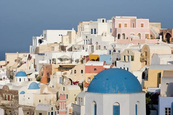 Greece, Santorini, Thira, Oia Poster